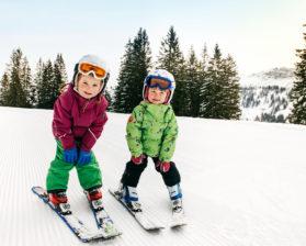 Skifahren Niedere © Benjamin Schlachter / Bregenzerwald Tourismus