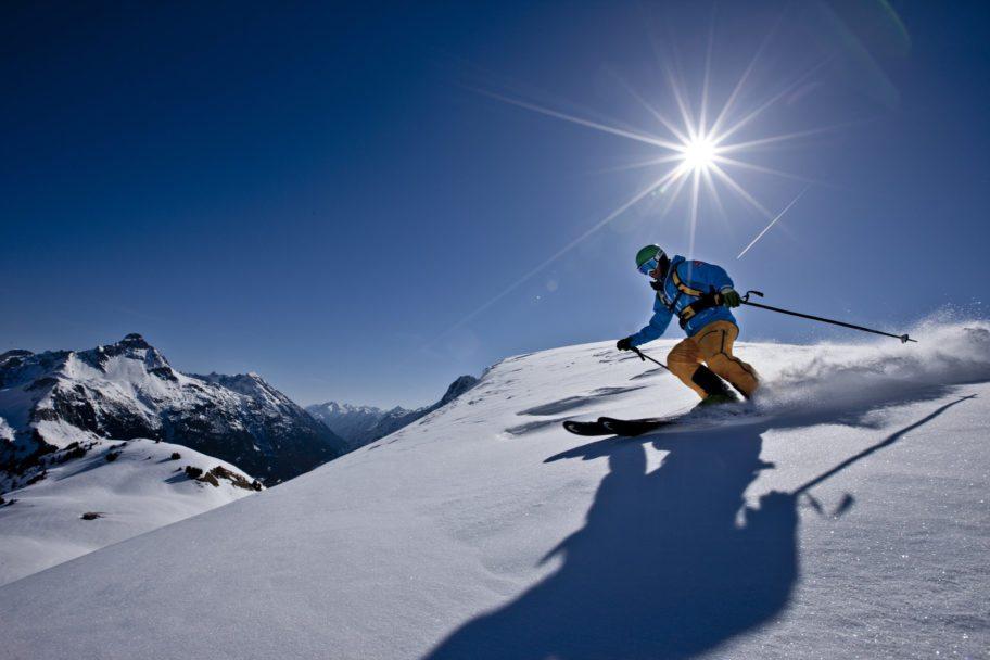 Skifahren Warth-Schroecken_skischule warth (36) © N.N. / Skischule Warth