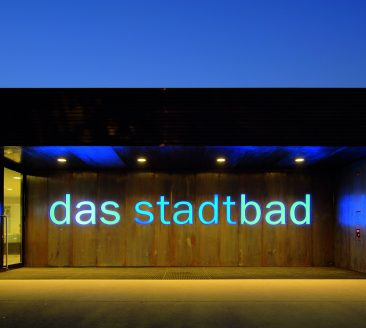 Stadtbad Eingang