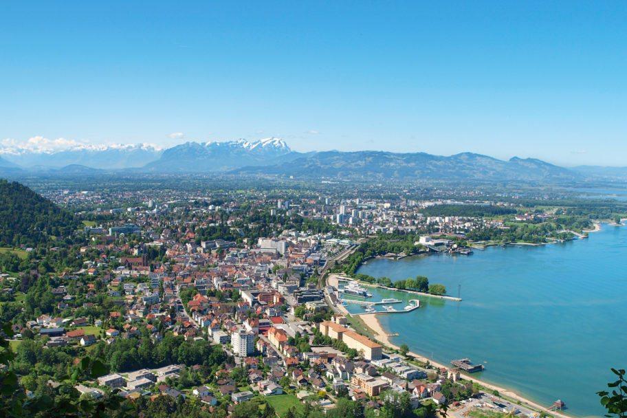 Panorama Bregenz_Curt Huber