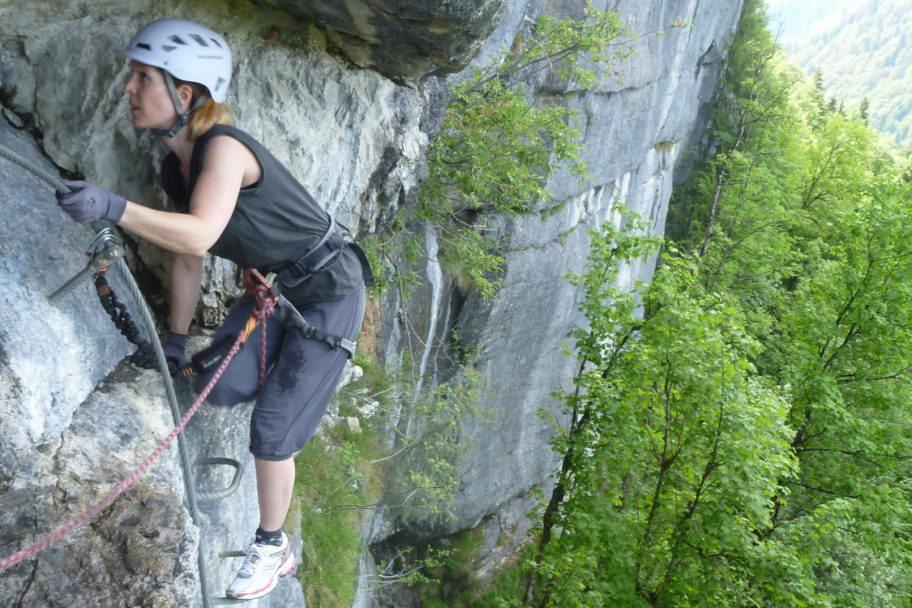 Klettersteig F : Klettersteig schwierigkeit