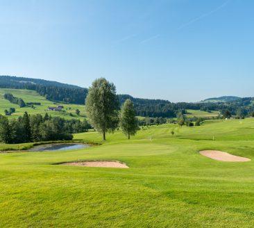 Golf im Bregenzerwald © Matthias Rhomberg / Vorarlberg Tourismus