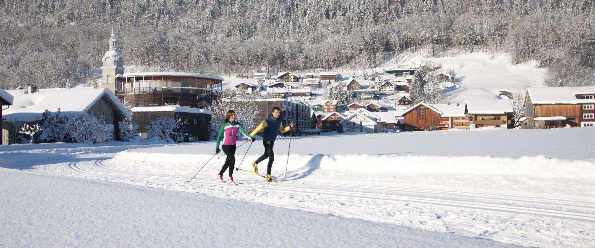 Langlaufen in Bezau © Bezauer Wirtschaftsschulen / witus