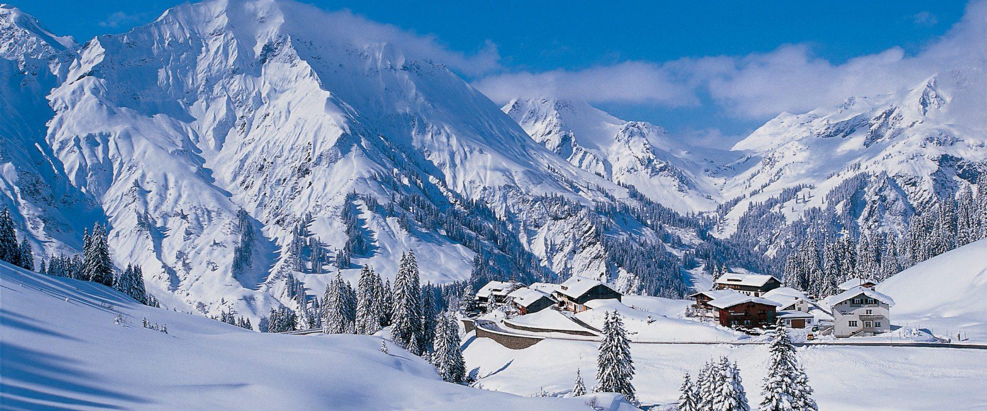 Winterlandschaft © Peter Mathis / Bregenzerwald Tourismus