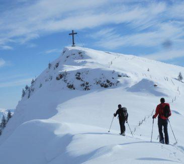 Fortgeschrittenen Skitour Winterstaude (1.877 m)