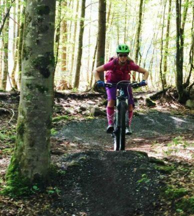 Infotafel Bike Parcour Au