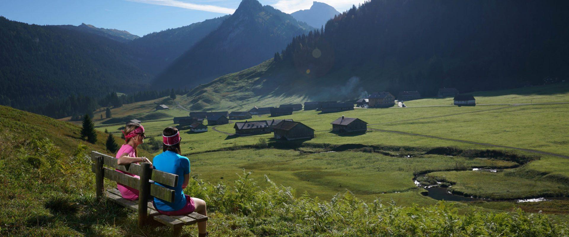 Wandern Schönenbach © Ludwig Berchtold / Bregenzerwald Tourismus