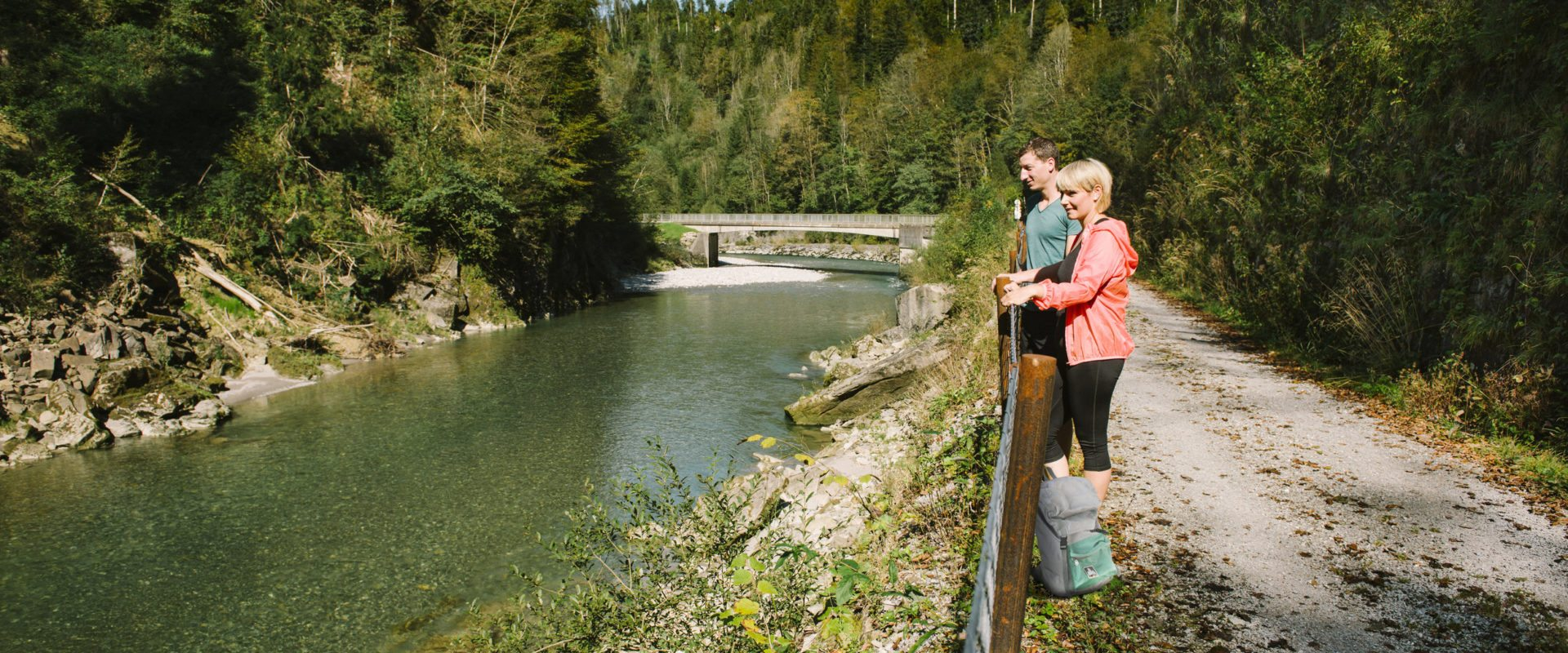 Weitwandern Achtalweg © Benjamin Schlachter / Bregenzerwald Tourismus