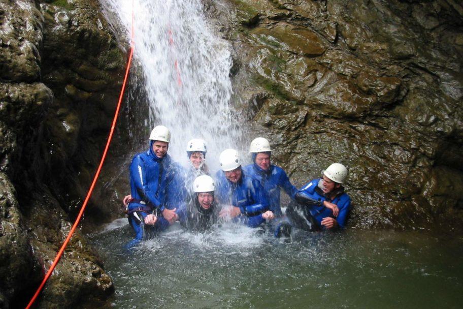 Canyoning_Alpinschule Schroecken