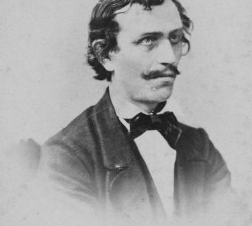 Felder_Leipzig_Franz Michael Felder, Leipzig, 1867, Vorarlberg Museum_grau