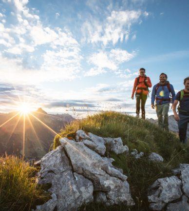 Acht Gipfelwanderungen im Bregenzerwald
