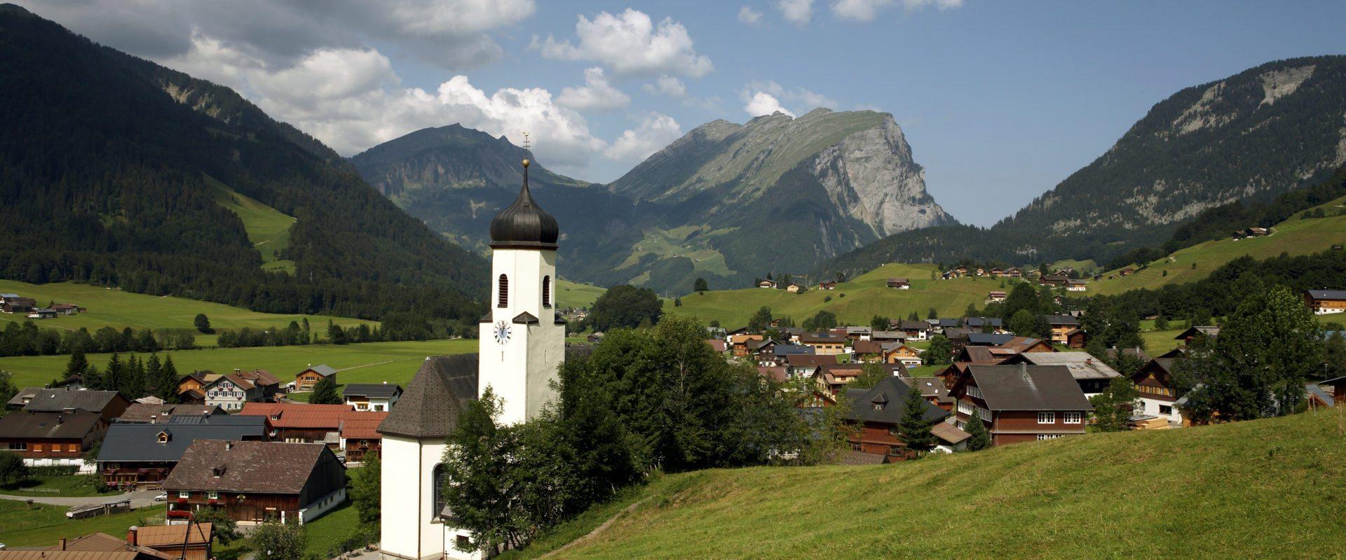 Schoppernau (c) Christoph Lingg - Bregenzerwald Tourismus