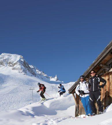 Schneesicher und unterhaltsam - Frühlingsskifahren im Bregenzerwald