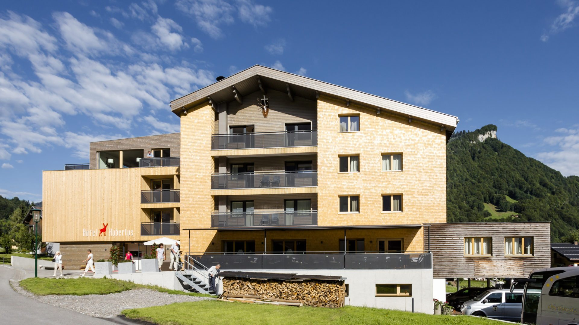 Hubertus Mellau mountainbike hotel: ****hotel hubertus in mellau - bregenzerwald in