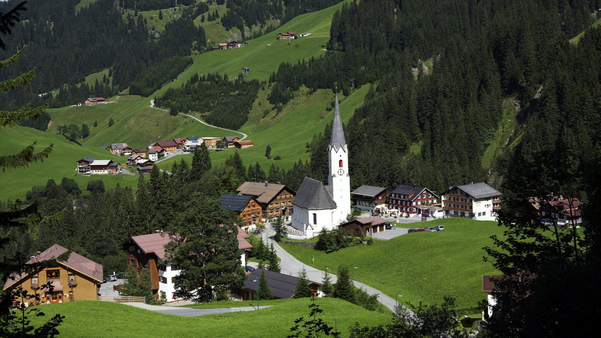Schröcken - Bregenzerwald in Vorarlberg