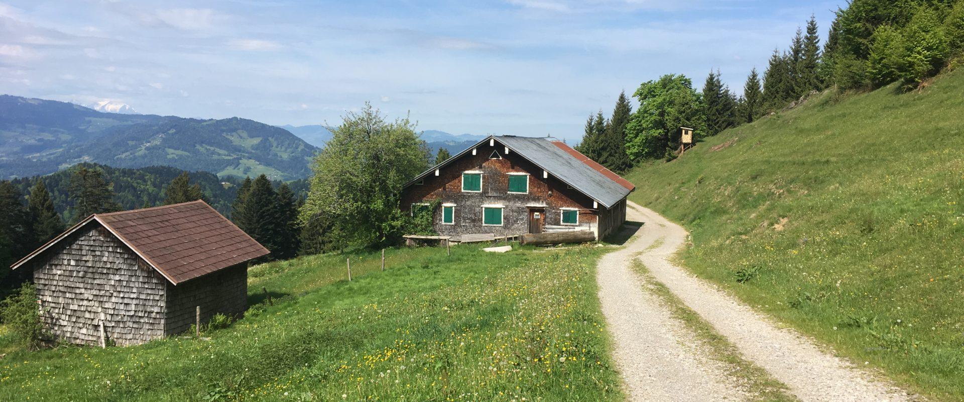 Weg Hittisau-Hochhäderich_Bregenzerwald Tourismus