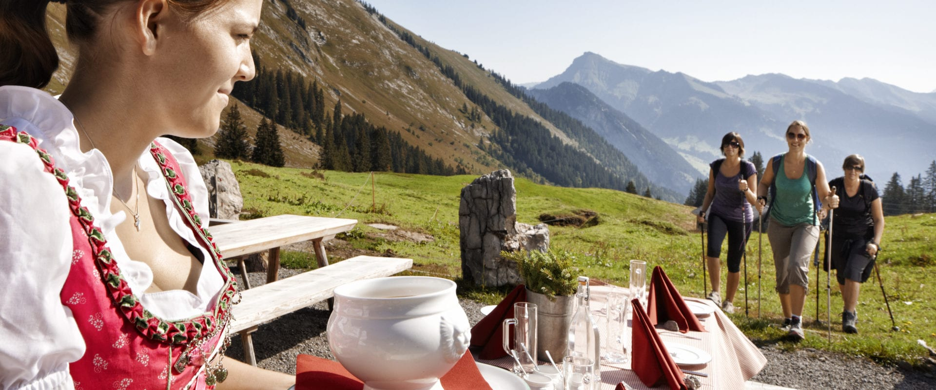 Culinary hike - Mellau