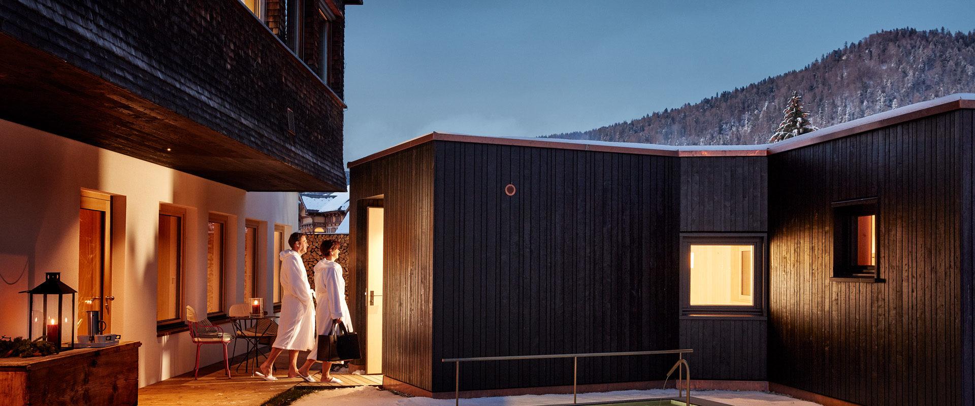 Sinful saunas