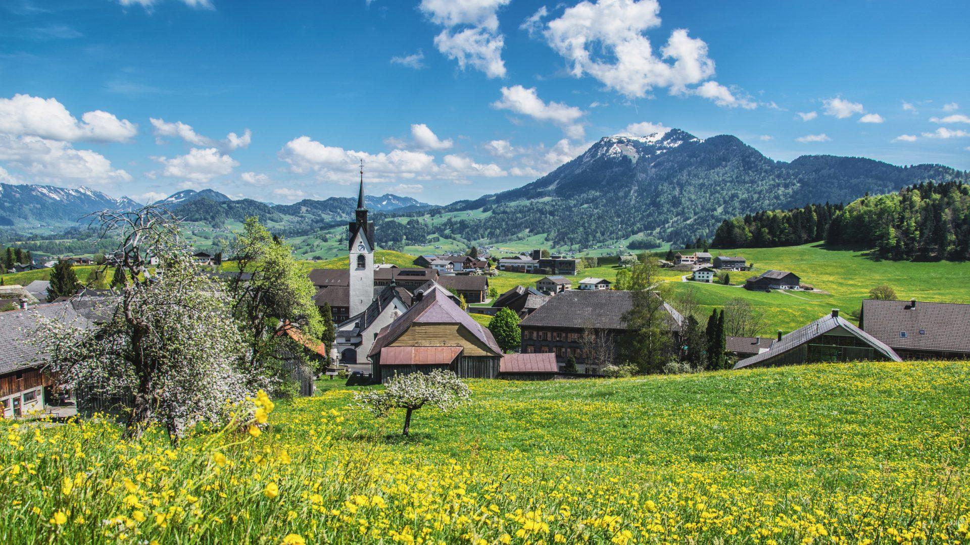 Schwarzenberg - Urlaub im Bregenzerwald