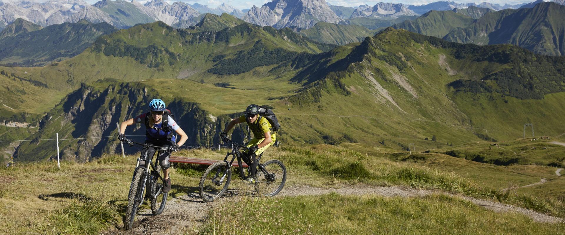 Mountainbike Au-Schoppernau © Adolf Bereuter undefined