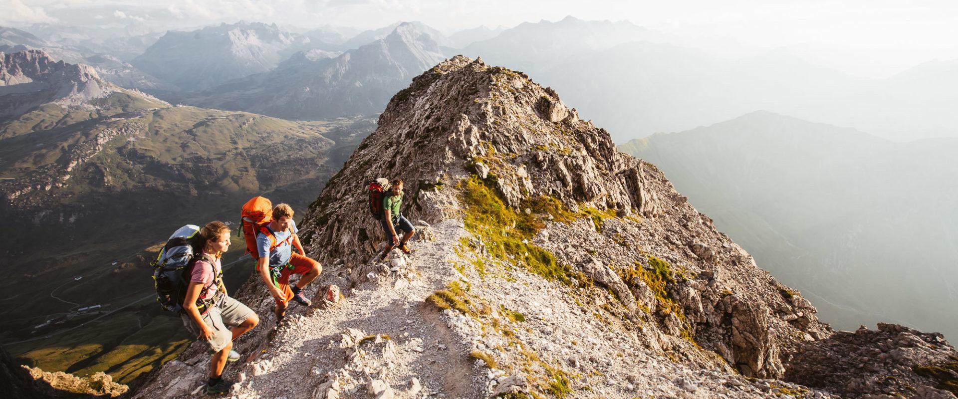 Aufstieg zum Widderstein in Warth-Schröcken © Sebastian Stiphout undefined