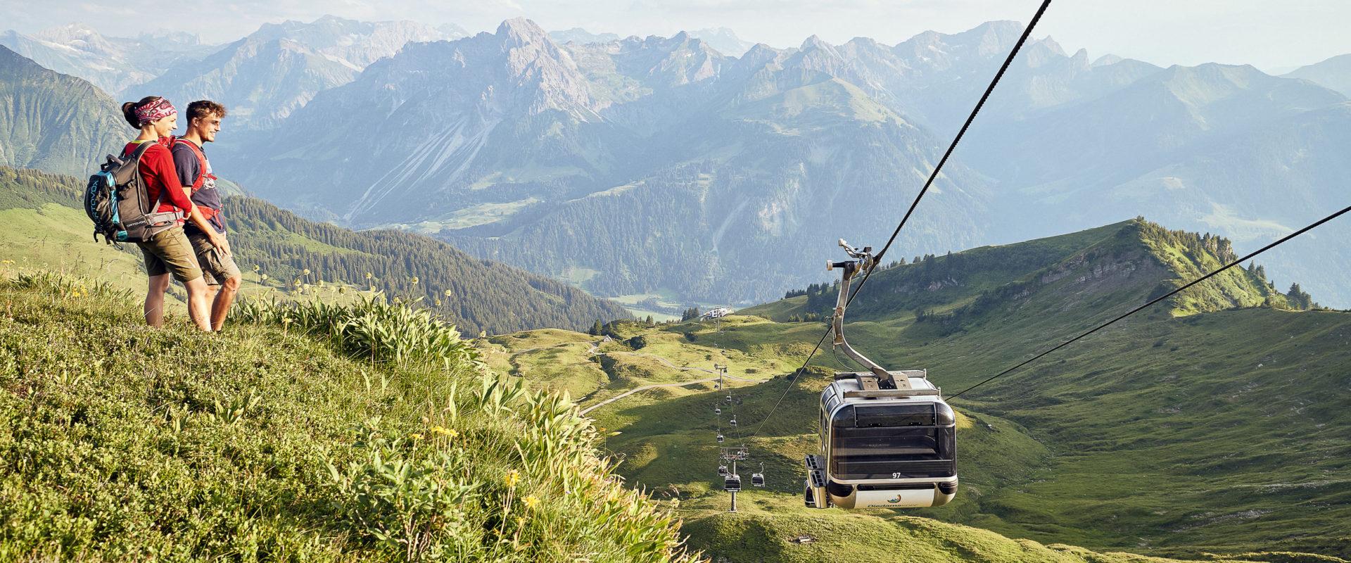 Bergbahnen Diedamskopf cable cars Au-Schoppernau