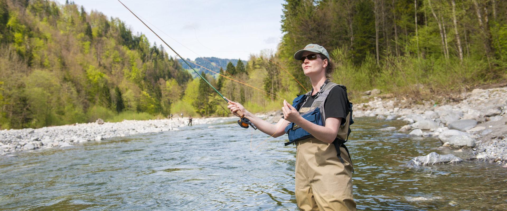 Fliegenfischen im Bregenzerwald © Michael Namberger undefined