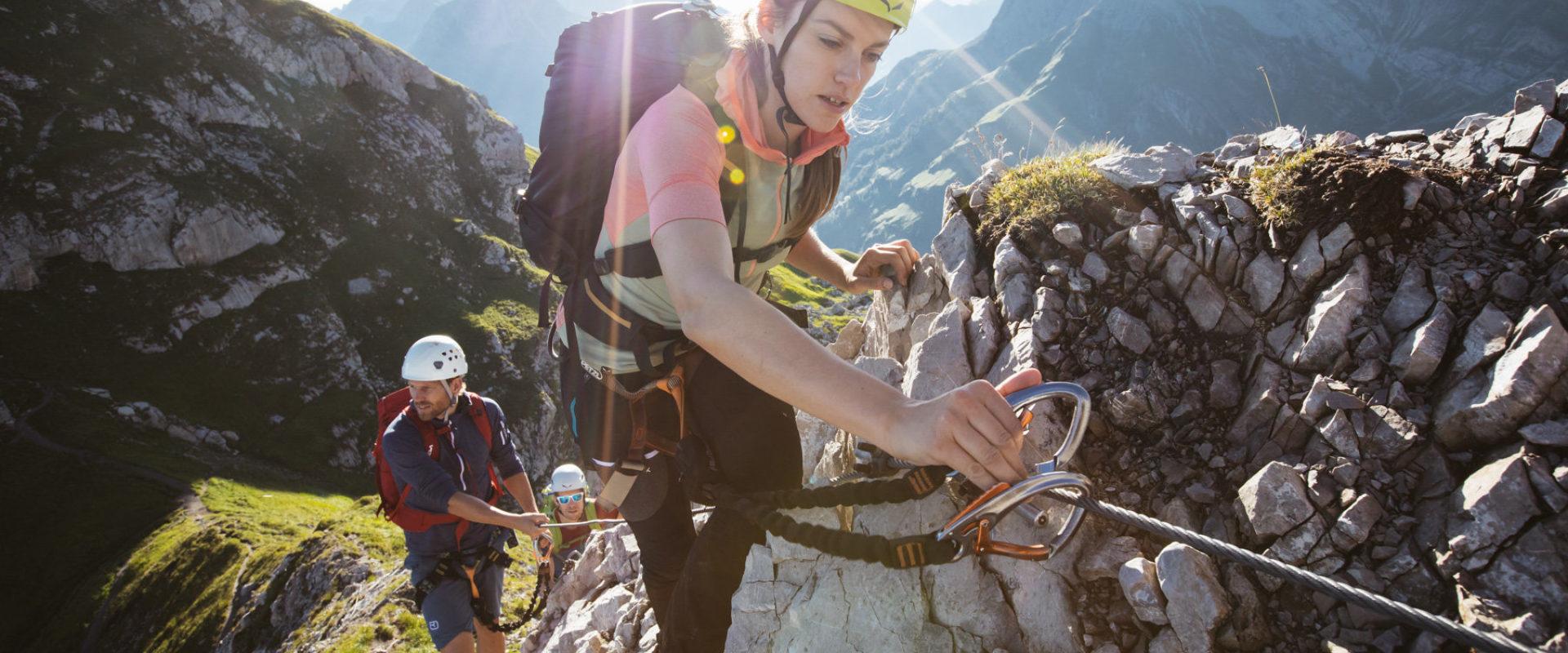 Klettersteig Karhorn in Warth-Schröcken © Sebastian Stiphout undefined