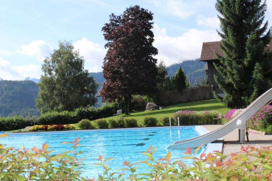 Schwimmbad Schwarzenberg © Sandra Mennel undefined