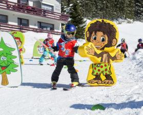 Bambiniland im Skigebiet Damüls-Mellau © Leon Kruse - Skischule Damüls (5)