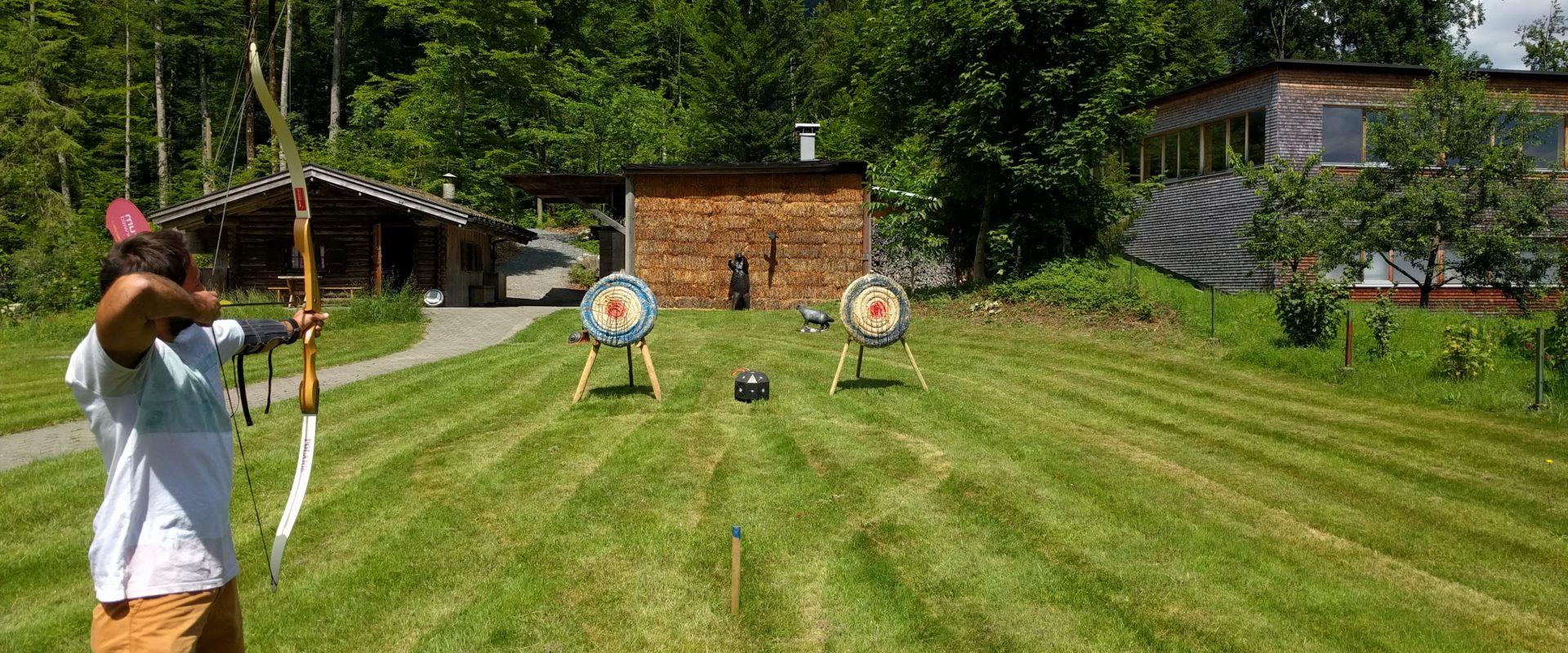 Bogenschießen AktivZentrum Bregenzerwald © Schmelzinger - Aktivzentrum Bregenzerwald (2)
