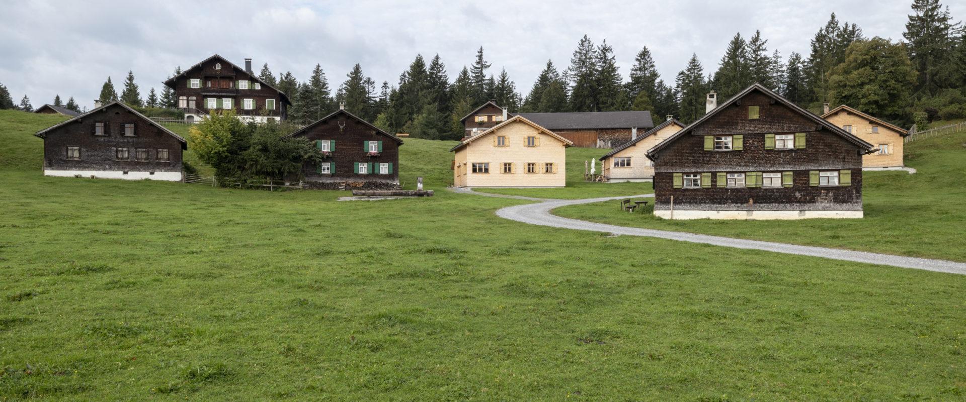 Häuserensemble am Bödele © Johannes Fink - Bregenzerwald Tourismus (1)