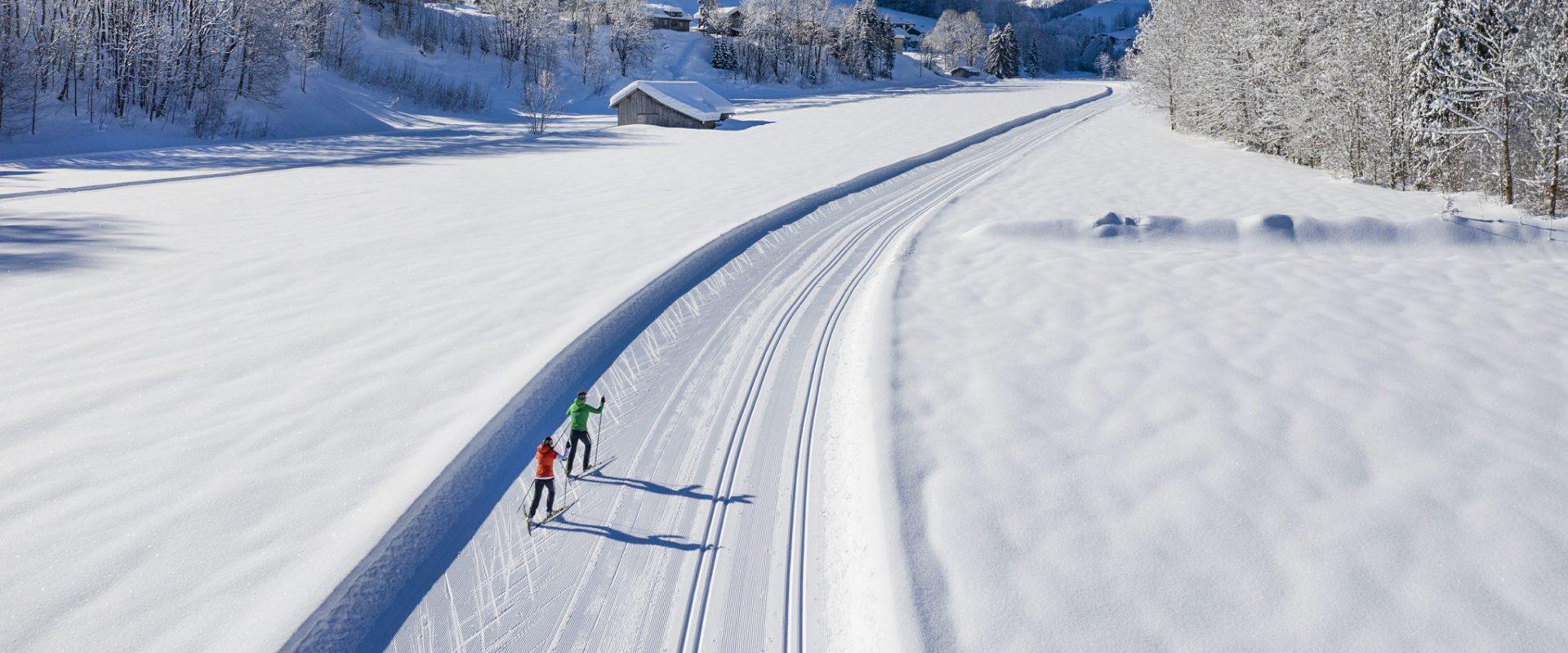 Langlaufen in Au-Schoppernau © Emanuel Sutterlüty - Au-Schoppernau Tourismus (6)