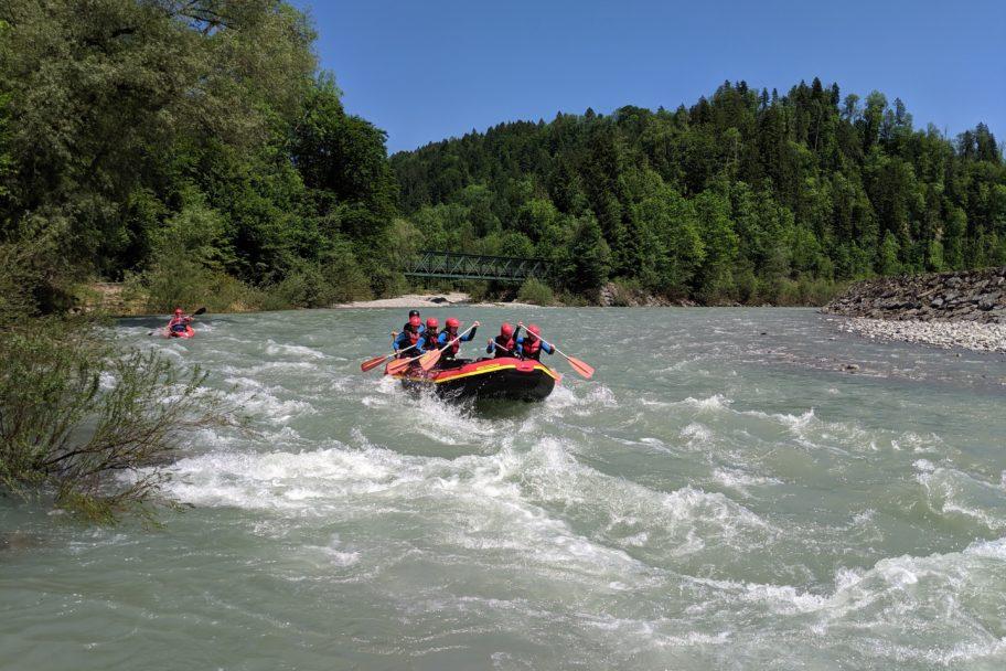 Rafting AktivZentrum Bregenzerwald © Schmelzinger - AktivZentrum Bregenzerwald