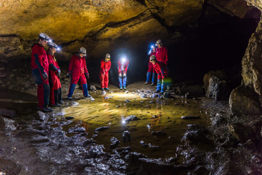 Tour in die Schneckenlochhöhle mit dem AktivZentrum Bregenzerwald © Helmut Düringer - AktivZentrum Bregenzerwald klein