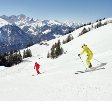 Skifahren am Diedamskopf © Alex Kaiser undefined