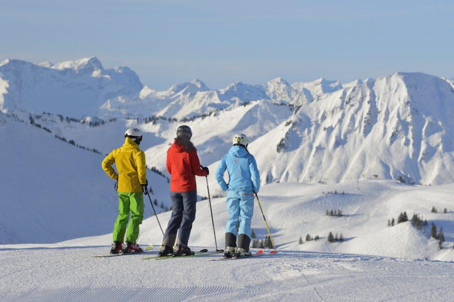 Skigebiet Damüls-Mellau © Sepp Mallaun / Vorarlberg Tourismus