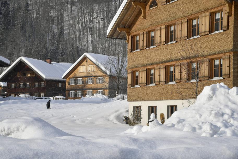 Traditionelle Architektur in Mellau © Jo Pesendorfer undefined