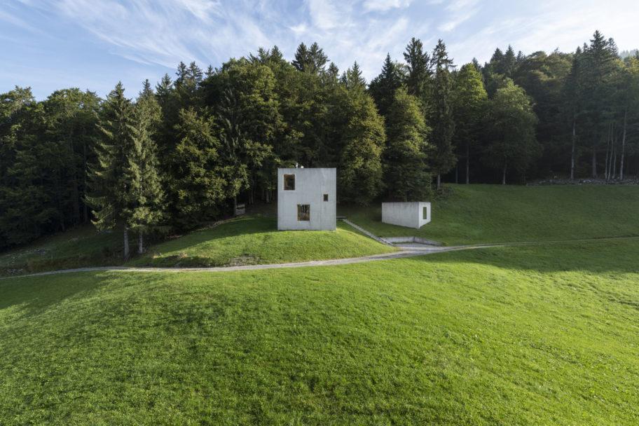 Zeitgenössische Architektur im Bregenzerwald © Johannes Fink undefined