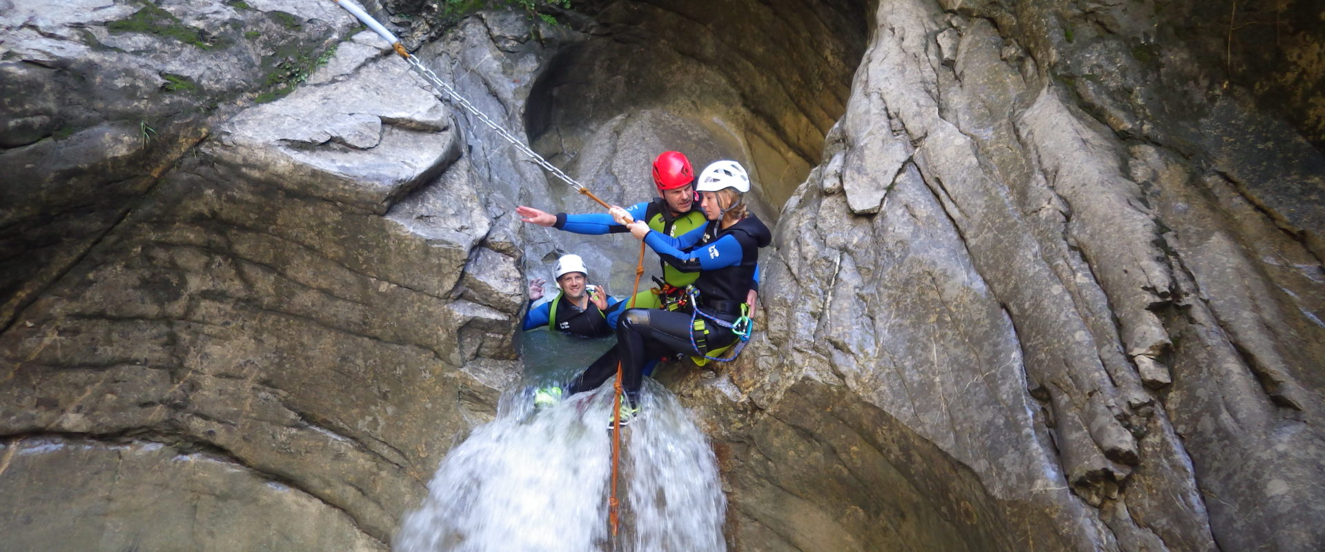 Canyoning © Jürgen Riegger - Alpine-Passion (11)