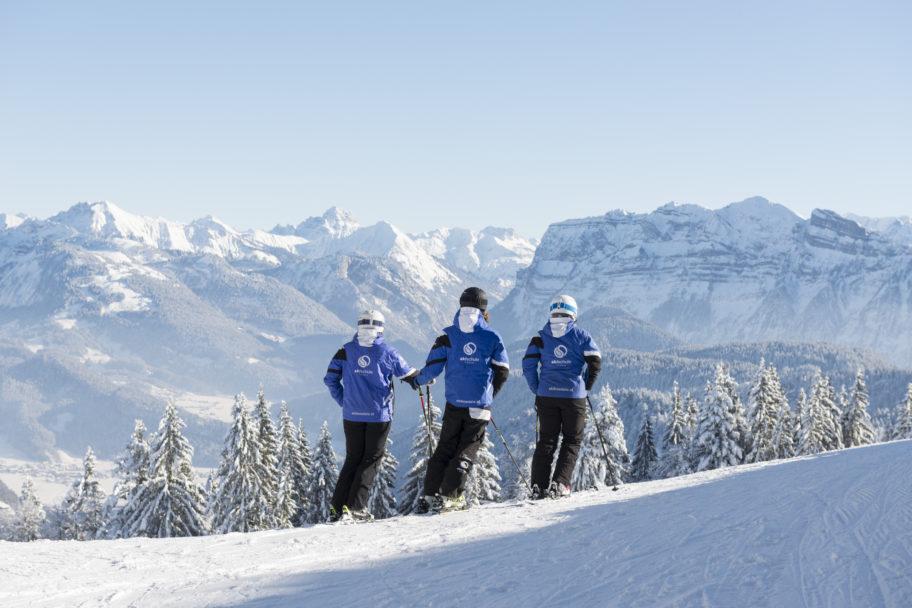 Ausblick vom Skigebiet Bödele © Johannes Fink - skibödele