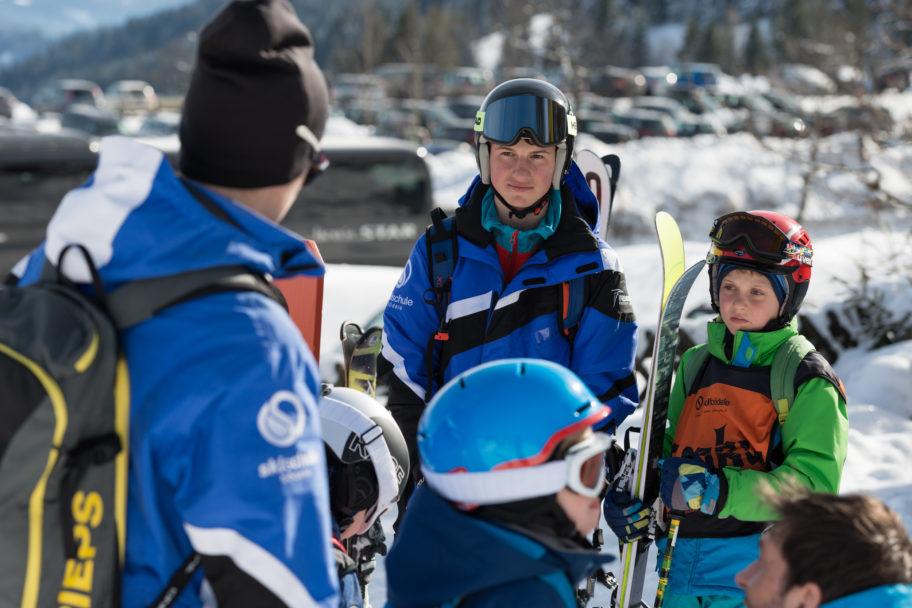 Gruppenskikurse in der Skischule Bödele © Johannes Fink - skibödele (1)