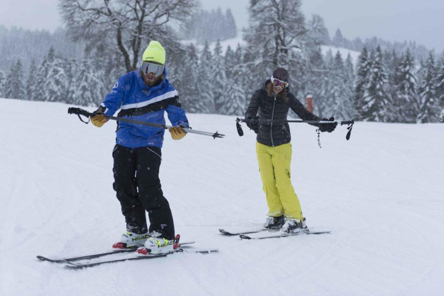 Individuell Skifahren lernen in der Skischule Bödele © Johannes Fink - skibödele (4)