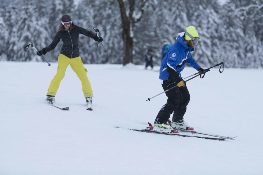 Individuell Skifahren lernen in der Skischule Bödele © Johannes Fink - skibödele (6)