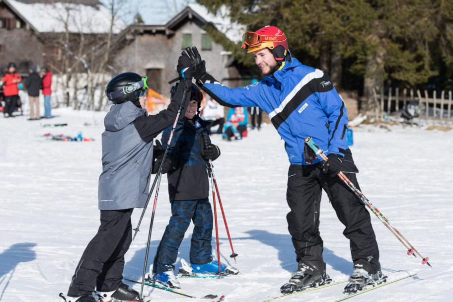 Technik verbessern in der Skischule Bödele © Johannes Fink - skibödele (1)